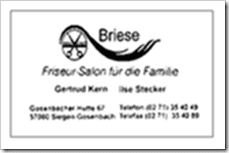 Friseur Salon Briese