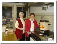 Margarete Solms und Inge Pitschmann